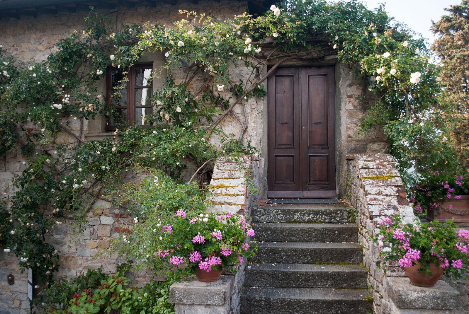 Castello Di Spaltenna Garden Door